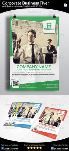 DOWNLOAD THIS Corporate Business Flyer FROM http://graphicriver.net/item/corporate-business-flyer/7326218?ref=GladicMonster