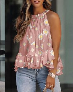 Urban Chic, Trend Fashion, Womens Fashion, Chic Type, Loose Tank Tops, Blouse Online, Fashion Colours, Casual Tops, Casual Wear