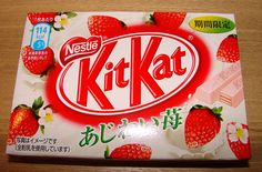 Strawberry Flavour Kit Kat from Japan by kalvin1974, via Flickr