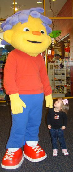 Sid the Science Kid visits Creative Discovery Museum