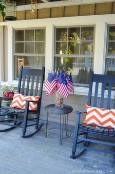 4th of July Front Patio