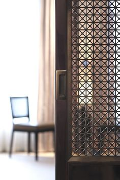 : Pass Through Doors Metals Screens Screens Panels Fretwork Screens Screens Doors Patterns Screens Doors Details Design Sliding Doors - June 23 2019 at Decorative Screens, Hotels Design, Metal Screen, Sliding Screen Doors, Door Design, Furniture Design Inspiration, Screen Design, Luxury Hotel Design, Sliding Patio Screen Door