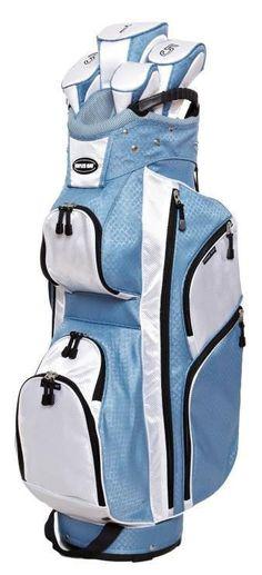 Naples Bay CTS001 Fashion Blue Women's Golf Bag