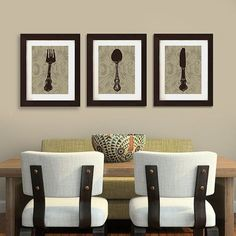 Awesome Love This // Kitchen Or Dining Room Art Print Trio By PelletierCreative On  Etsy, $32.50