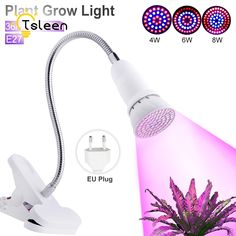 2835 Flower Fruit Led Grow Light Desk Hydroponic Small Plant Lamp Flexible Neck 360 Degree For Indoor Plant 36 54 Growing Plants Indoors, Grow Lights For Plants, Led Grow Lights, Led String Lights, Indoor Flowers, Indoor Plants, Grow Light Bulbs, Hydroponics System, Vintage Lamps