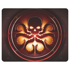 Skeleton and Logo Design Rectangular Mouse pad - Brought to you by Avarsha.com