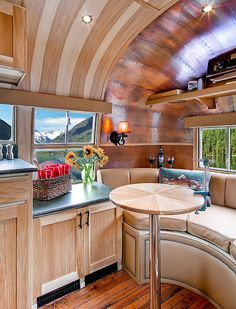 The impressive restoration done by Timeless Travel Trailers brings this relic back better than before.