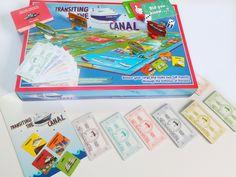 Foto estudio, juego Travesía por el Canal de Panamá