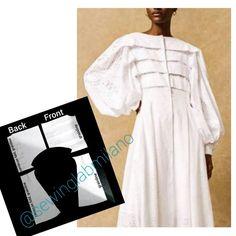 Pleated Shirt, Pleated Bodice, Shirt Dress, Panel Dress, Asymmetrical Tops, Cutout Dress, Dress Patterns, Clothing Patterns, Vintage Skirt
