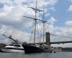 CLIPPER CITY Tall Ship, East River, New York City