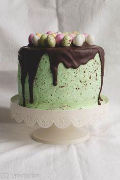 LeivinLiina: Pilkukas pääsiäismunakakku Easter, Desserts, Food, Tailgate Desserts, Deserts, Essen, Dessert, Yemek, Food Deserts