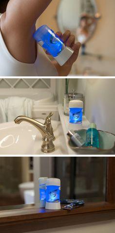 ClickStick is the World's First Smart Deodorant Applicator #tech trendhunter.com