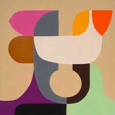 How did Ellsworth Kelly paint hard edges for curved shapes, such as in his painting High Yellow Abstract Drawings, Abstract Oil, Abstract Paintings, London Art Fair, Hard Edge Painting, Painting Art, Paper Collage Art, Painted Paper, Geometric Art