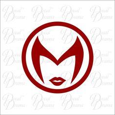 Scarlet Witch emblem Vinyl Car Decal, Avengers Ironman Thor Captain America Hulk #DecalDrama