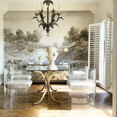 dining room, Rosie Case decor