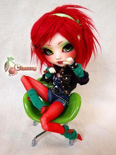 [Pullip Custom] Cherry @ Kikyô  by Kikyô ★⋆*· (busy), via Flickr