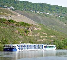 Heading towards the Rhine river