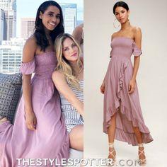 Bridesmaid Dresses, Prom Dresses, Formal Dresses, Wedding Dresses, Mauve Dress, Purple Dress, Becca Kufrin, Wild Hearts, Seasons