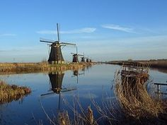 #Kinderdijk a UNESCO World Heritage site in the Netherlands. Vacation destination 2010