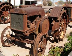 Antique John Deere Tractor by BOB WESTON, via Flickr