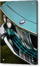 Bmw 3.0 Cs Front Acrylic Print by Mike Reid