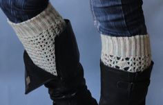 Fall and winter accessories  leg warmer boot cuff by TTAccessories, $12.99