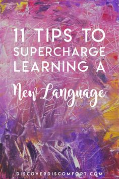 After years of learning languages, we've made a lot of mistake focusing on the wrong things. Here are the best tips on what you can do to learn a new language quickly and effectively. French Lessons, Spanish Lessons, Teaching Spanish, Teaching English, Learn Spanish, Teaching French, English Grammar, Language Study, Language Lessons