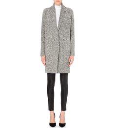 VINCE - Long wool-blend cardigan | Selfridges.com | Cardigans ...