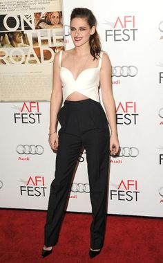 NOT a fan of KStew, but loving this Balenciaga outfit.