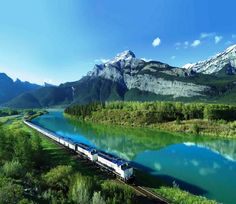 I want to ride the train from east to west coast across Canada!