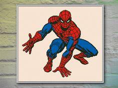 Spider Man Cross Stitch Pattern INSTANT DOWNLOAD by DeepKaplio
