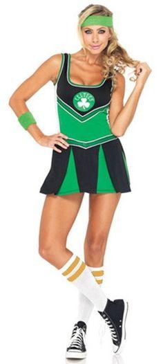 8bd6b995929 Boston Celtics Cheerleader Licensed NBA Costume