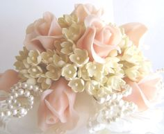 Hey, I found this really awesome Etsy listing at https://www.etsy.com/listing/24133277/handmade-clay-rose-lilac-bridal-nosegay