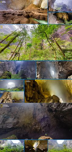 Inside the world's largest cave with Intel Gallery