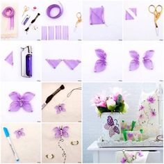 Nature is one of the best places to look for crafts inspiration. If you are looking for spring and summer crafts ideas, butterflies are your good choices.They are beautiful, delicate and brightly colored.Here is a nice DIY project to make beautiful embroidered ribbon butterfly. You can do it on a …