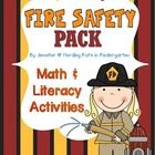 Fire Safety Math & Literacy Pack! This pack has 10 Math Activities and 4 Literacy Activities - including 2 Emergent Readers! Reinforce Fire Safety while still teaching basic skills! This pack is geared towards Pre-K and K students but can serve as RTI for 1st grade!