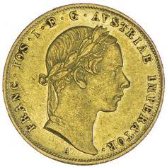 Dukat 1855 A Kaiserreich Franz Joseph I. 1848 - 1916