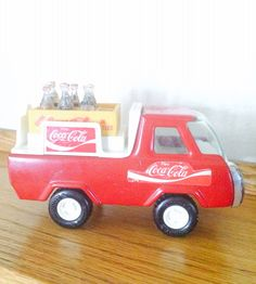 Buddy L Coca-Cola Delivery Truck  on Etsy, $32.00