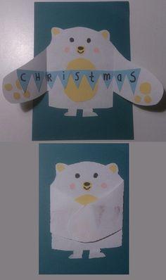 Je kunt deze malgebruiken om deze leuke kerstknutsel te maken. Ook leuk als kerstkaartje !