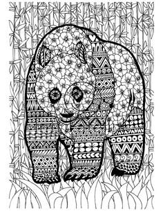 instant coloring page download this is an adult coloring page of the chameleon designed in jungle theme this is a intricate design which will give you joy