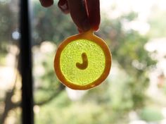 monogrammed stained glass ornament cookies by Marivelous Me. photo by Oh Joy. click for recipe