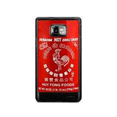 retro red hot saus Samsung Galaxy s2 i9100 case US$ 16.50