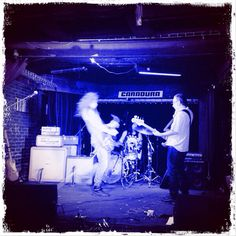 Caradura soundcheck tocando con @Miro. MasterFrenc en el bajo