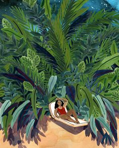 Summer Illustrations That'll Make You Want to Escape to the Beach