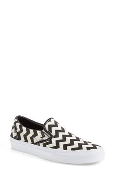 Vans 'Classic' Slip-On Sneaker (Women) available at #Nordstrom. So cool!