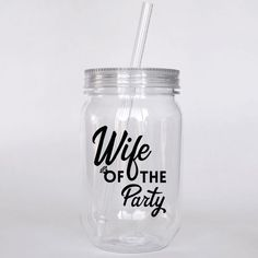 Wife of the Party bachelorette party favor