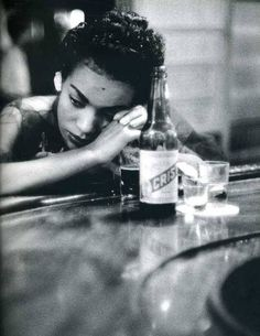 Eve Arnold, Bar girl in a borthel in the Red Light District, Havana,