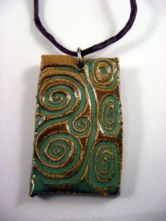 Ceramic Pendant via Flickr