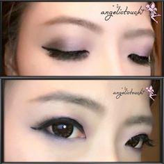 Purple Gradient #angelictouch_makeupandhair #your_angelskin #angelkikicheng #eyemakeup #makeup #purplegradient