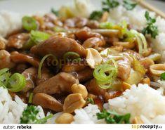 Kuřecí kung pao z letáku Albert recept - TopRecepty. Thing 1, Kung Pao Chicken, Meat, Ethnic Recipes, Asia